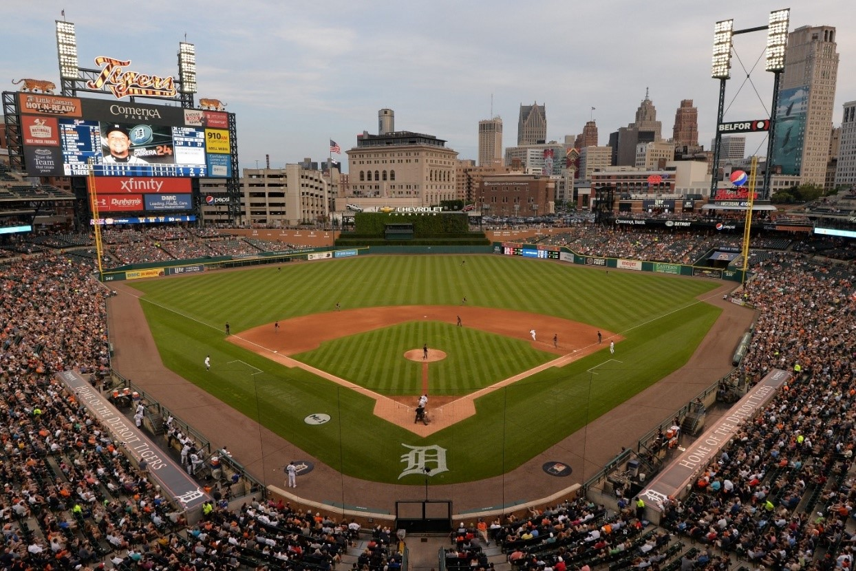 Photo courtesy of the Detroit Tigers