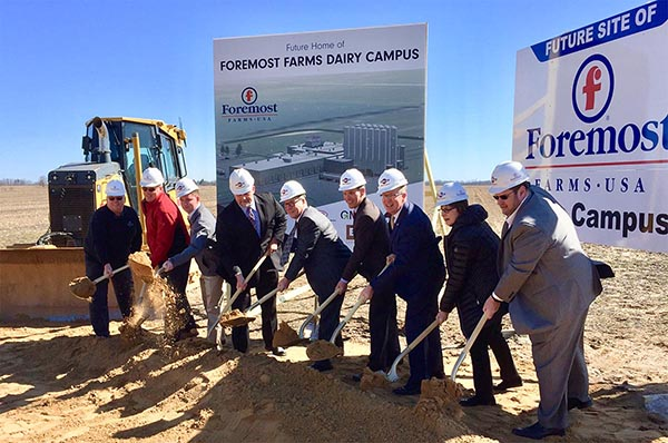 Foremost Farms Ground breaking